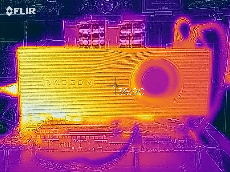 Radeon RX 5700 XT - Termocamera