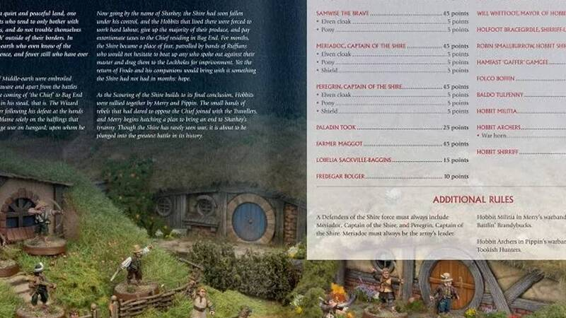 Scouring of the Shire: gli hobbit in difesa della Contea