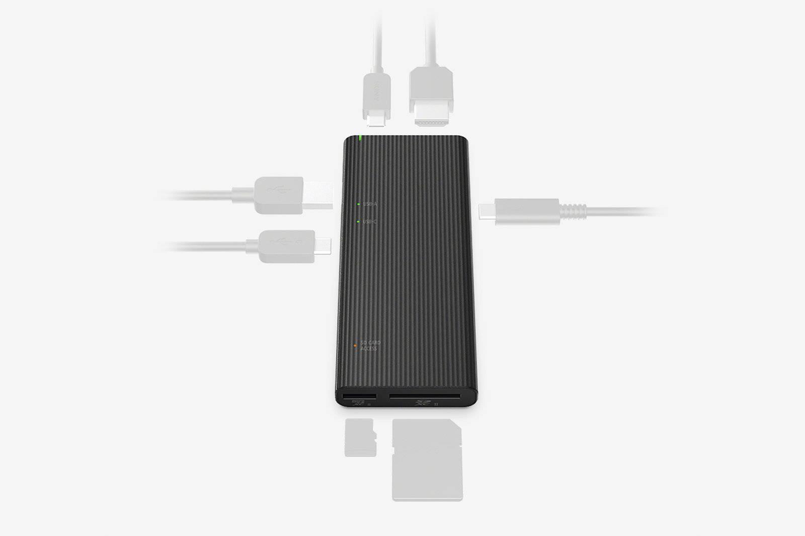 Sony MRW-S3 hub USB