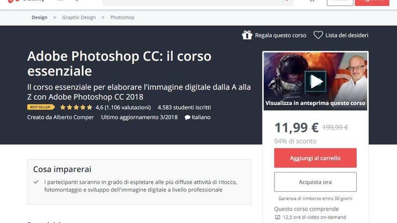 Corso Udemy Adobe Photoshop Cc Il Corso Essenziale In