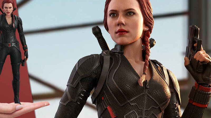 Black Widow: una nuova figure annunciata da Hot toys | Cultura Pop