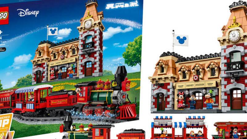 LEGO: domani uscirà la Stazione Disney con treno telecomandato