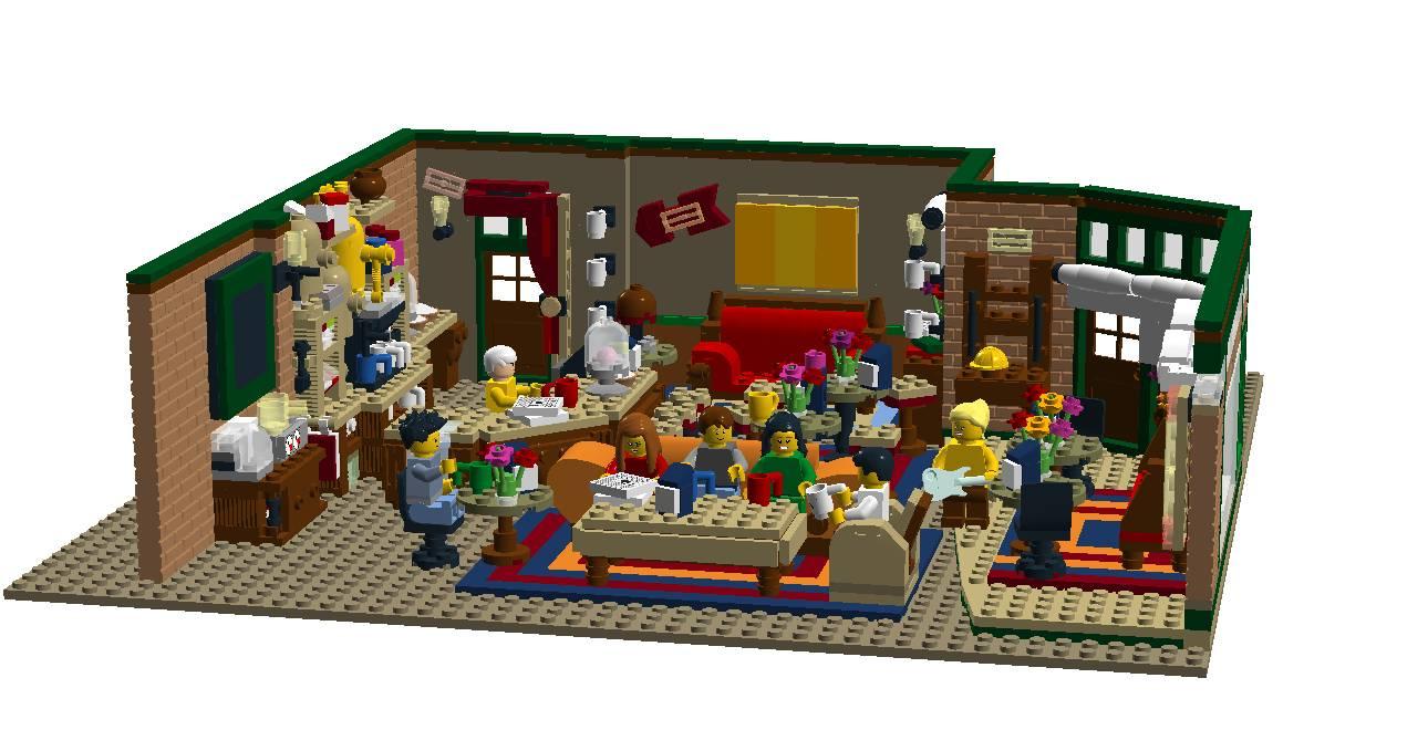 Friends set LEGO Ideas