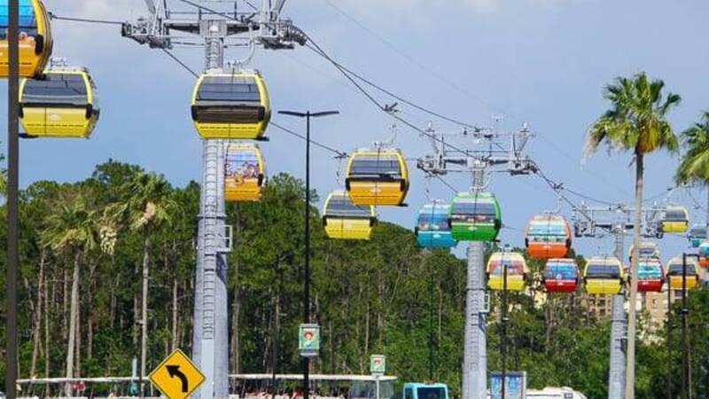 Walt Disney World: scopriamo la funivia innovativa Skyliner | Cultura Pop