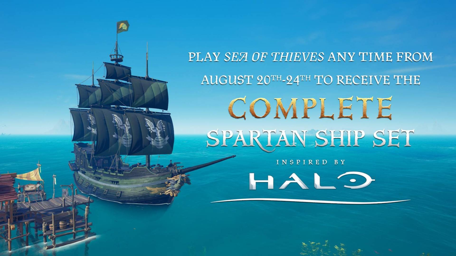 Sea of Thieves cross over halo