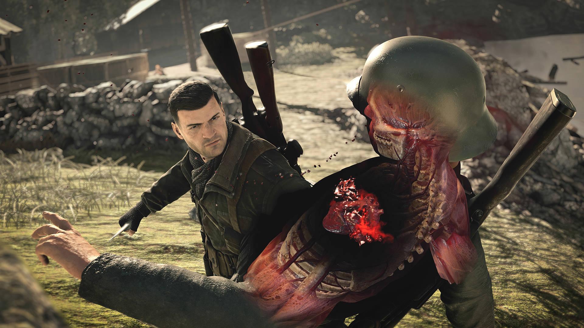 Sniper Elite 4 USA violenza