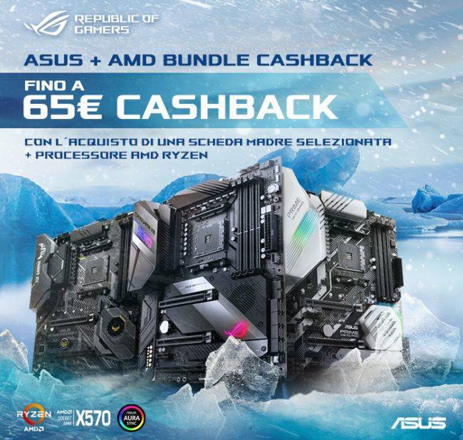 Asus Cashback AMD X570 Ryzen