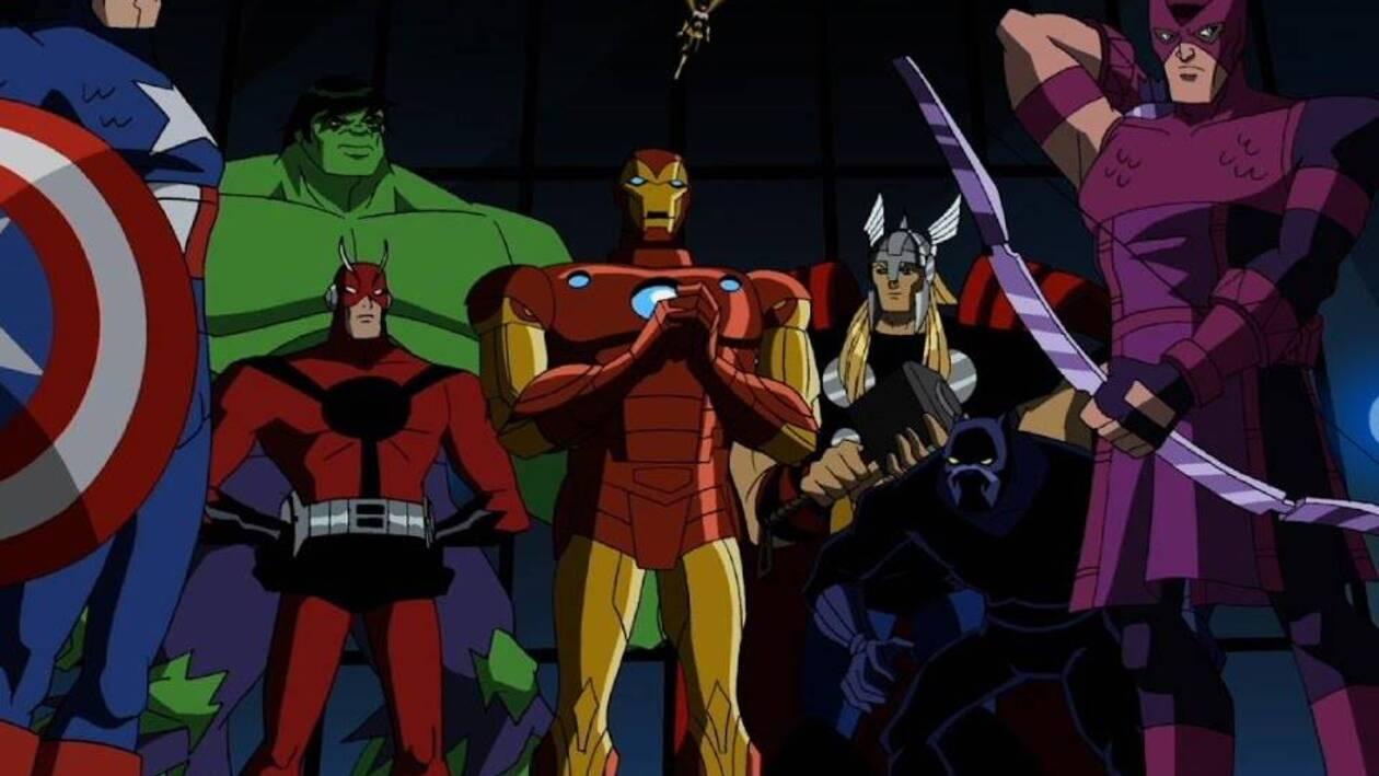 Le Serie Animate Marvel Quando I Supereroi Diventano Cartoni
