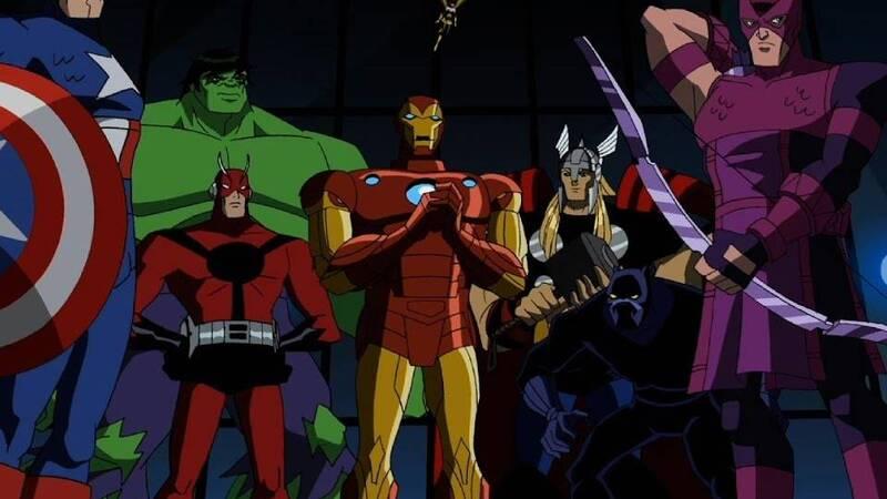 Le serie animate Marvel: quando i supereroi diventano cartoni animati