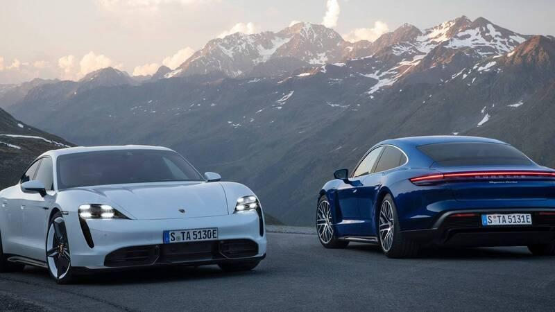 Porsche Taycan, la prima 100% elettrica della casa tedesca