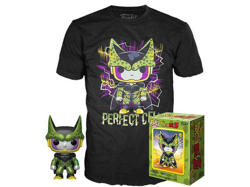 Gamestop exclusive Perfect Cell Pop and Tee bundle
