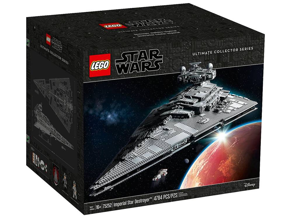 Imperial Star Destroyer Lego