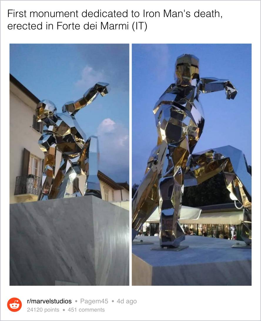 Iron Man Statua