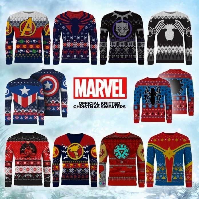 Marvel Christmas Sweaters