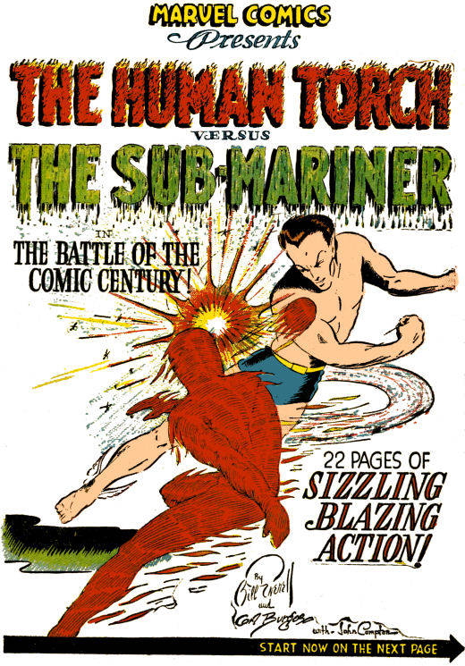 namor vs human torch