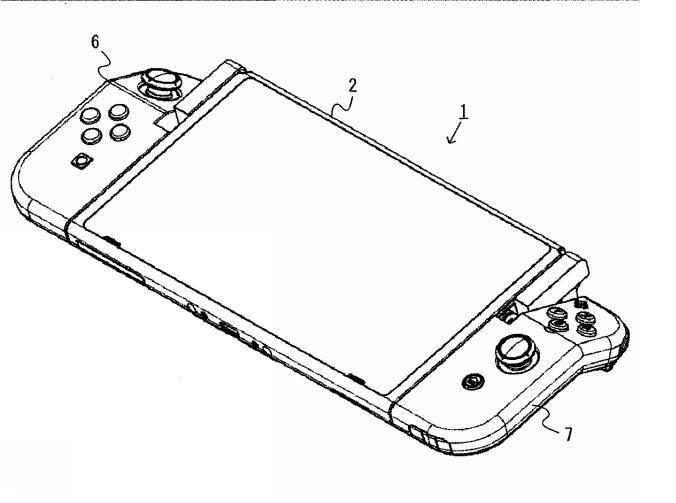 Nintendo Switch brevetto