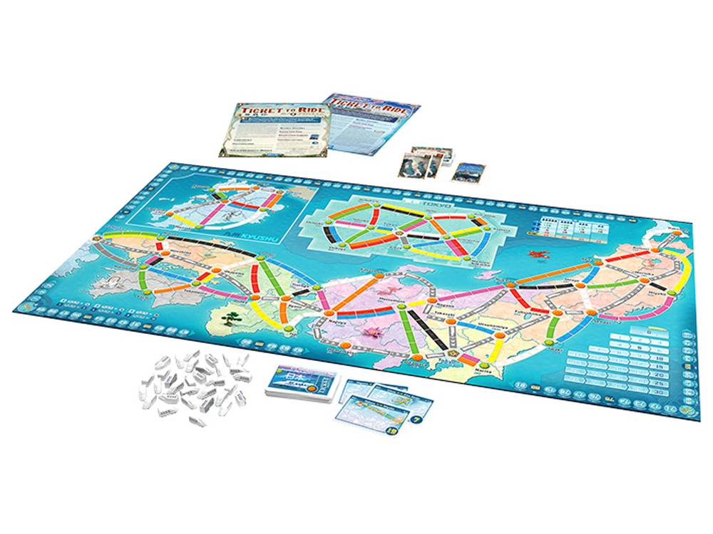 Ticket to Ride Map Collection: Italia - Giappone