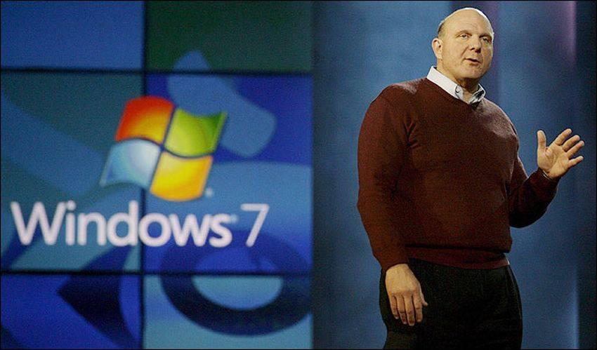 Ballmer Windows 7