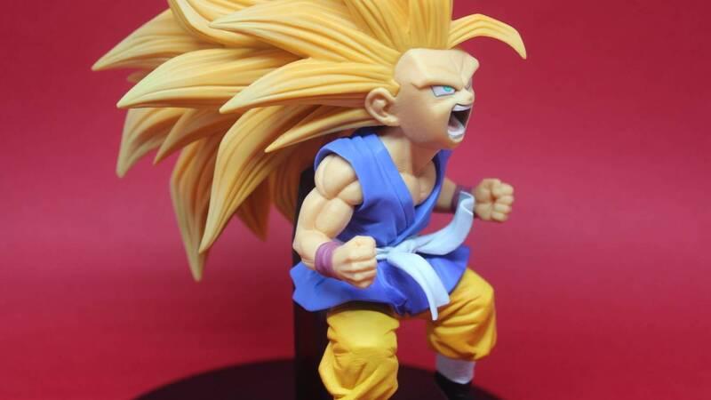 Dragonball GT: Son Goku Super Saiyan 3 di Banpresto