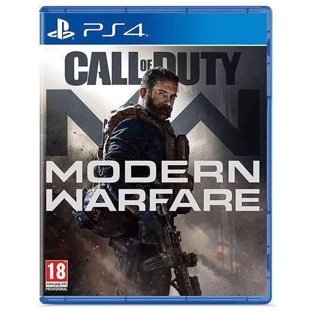 Call of Duty Modern Warfare PS4 cover