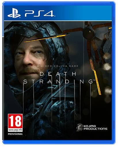 Death Stranding PS4 cover