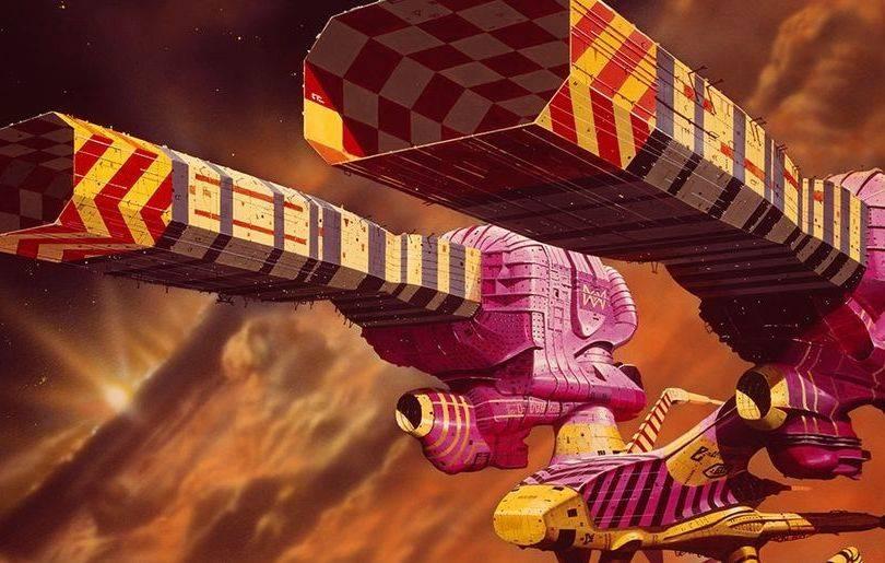 Disegno di Chris Foss per il Dune di Alejandro Jodorowsky