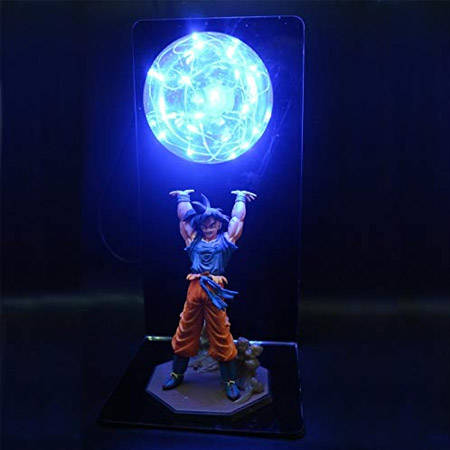 dragon ball genkidama lamp