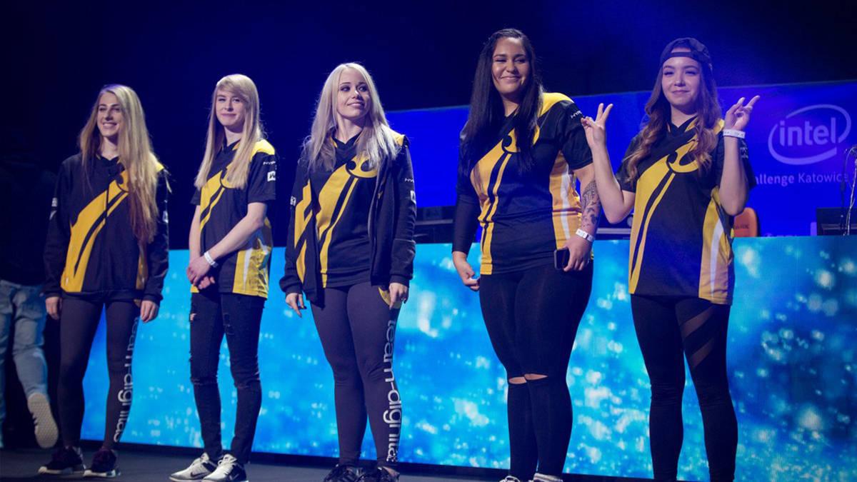 eSports Intel Team Dignitas femminile