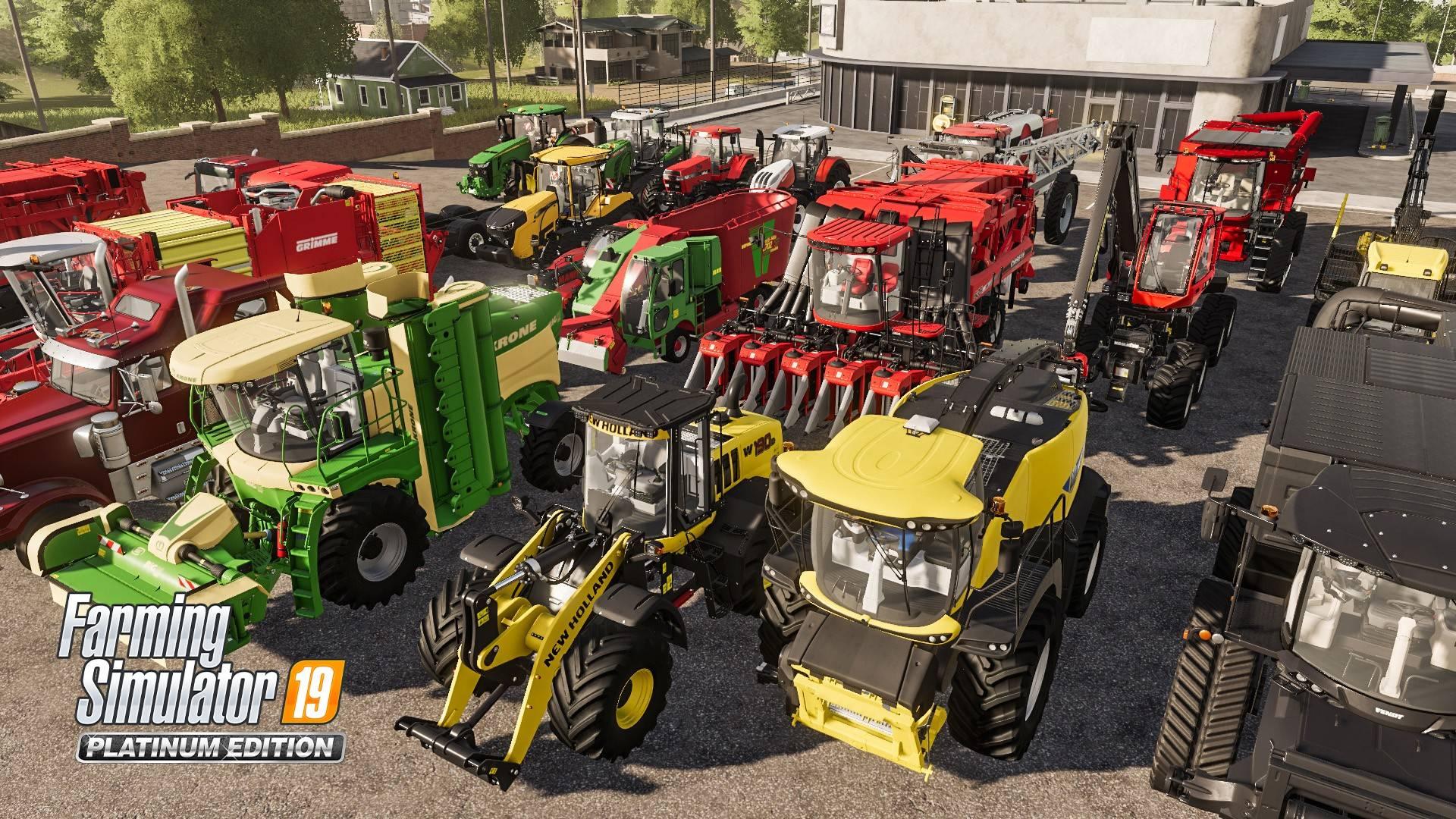 Farming Simulator 2019 Platinum Edition