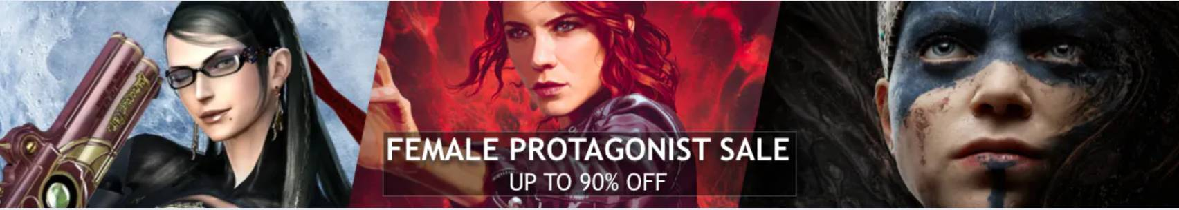 Female Protagonist Sale