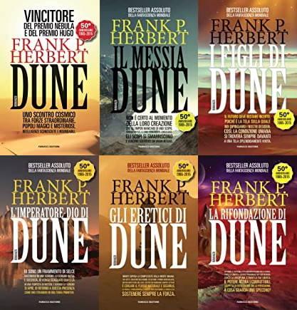 I libri di Dune di Frank Herbert