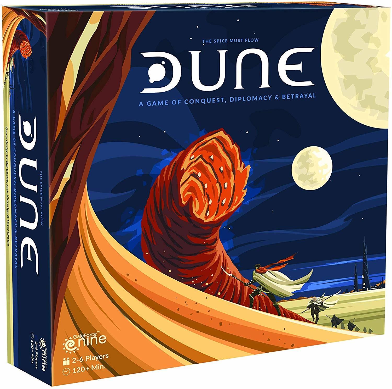Il nuovo gioco da tavolo di Dune
