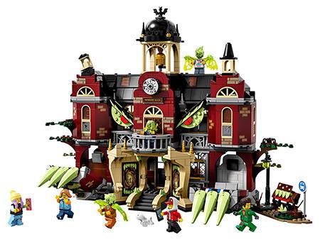 lego castello stregato