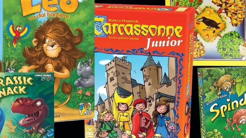 I migliori 5 giochi da tavolo per bambini dai 4 ai 6 anni