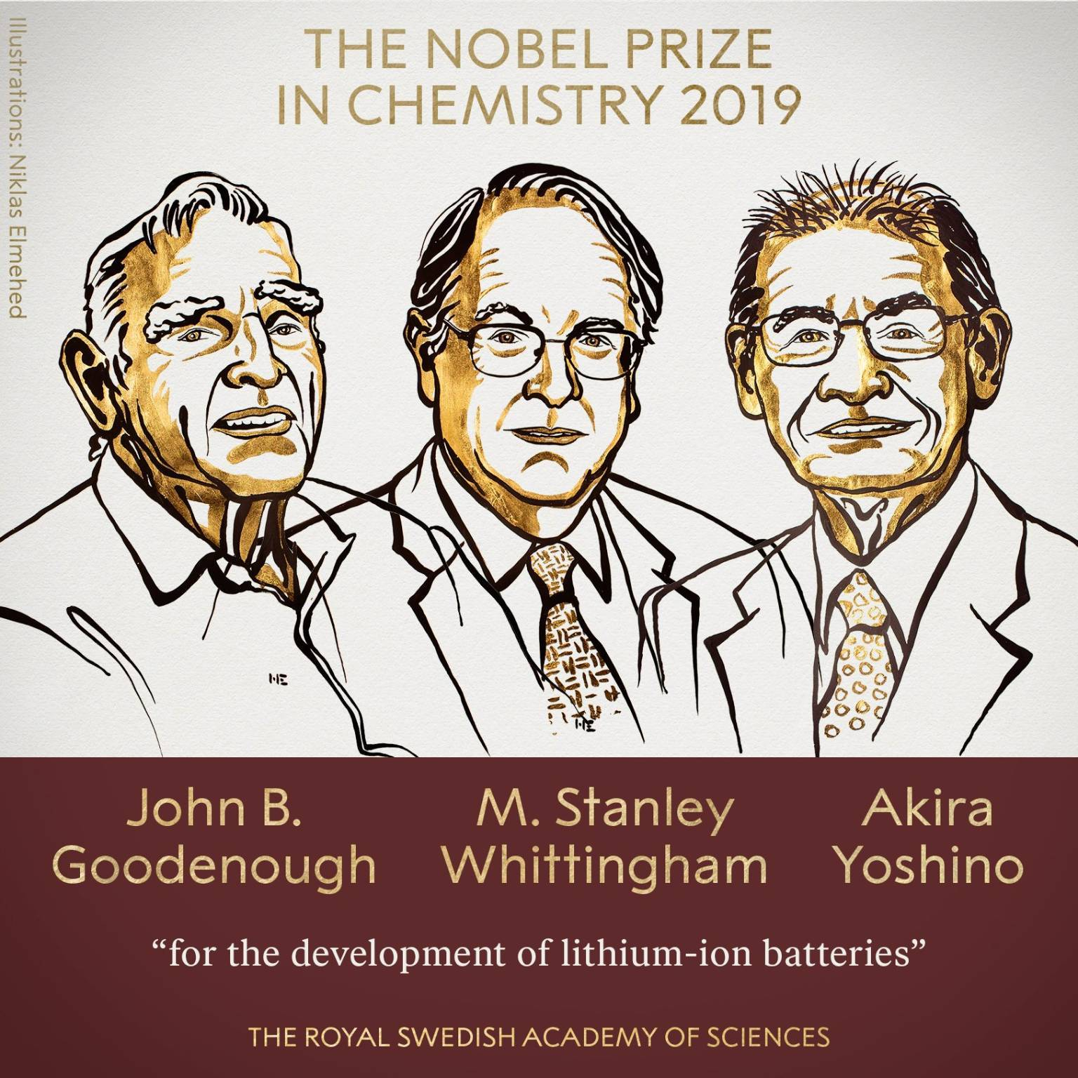Nobel Chimica 2019 batterie ioni litio