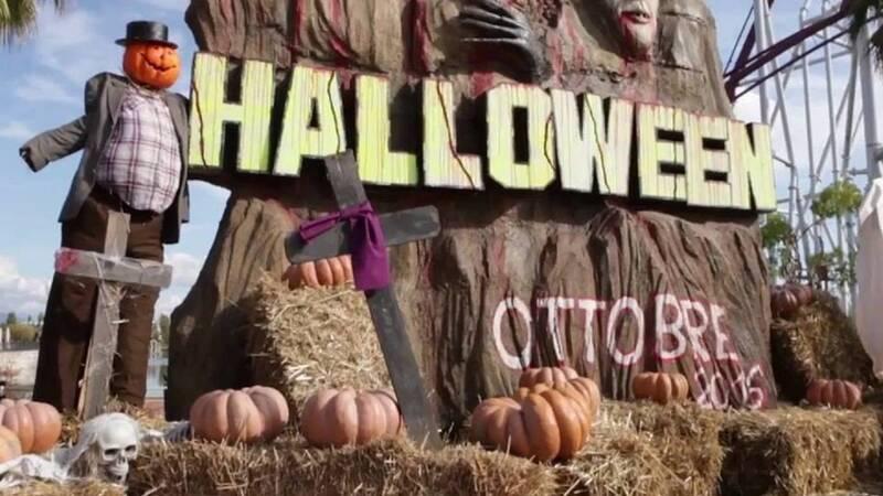 Guida ad Halloween nei parchi divertimento italiani