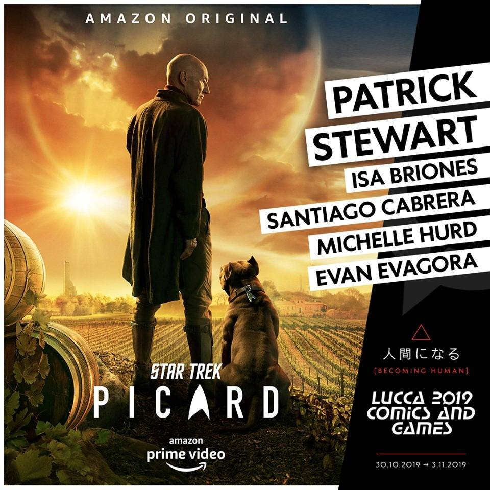 Patrick Stewart Lucca Comics & Games
