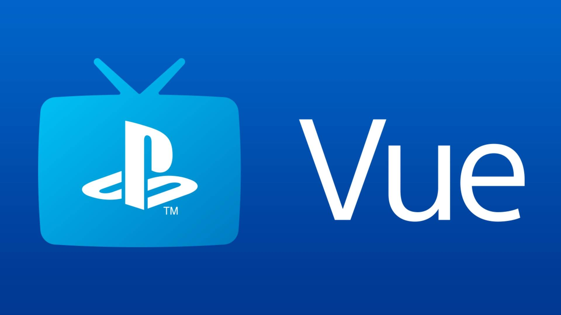 PlayStation Vue PS4 PlayStation 4 Sony TV