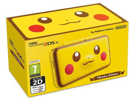pokemon 2ds pikachu