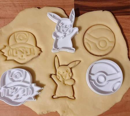 Pokemon formine biscotti