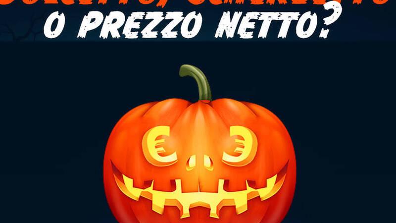 ePrice rimborsa l'IVA con Halloween Prezzo Netto | Sconti su TV, computer e videogiochi