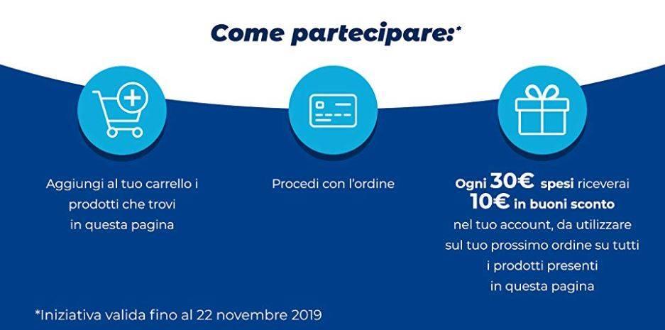 Promo 10 euro Amazon istruzioni