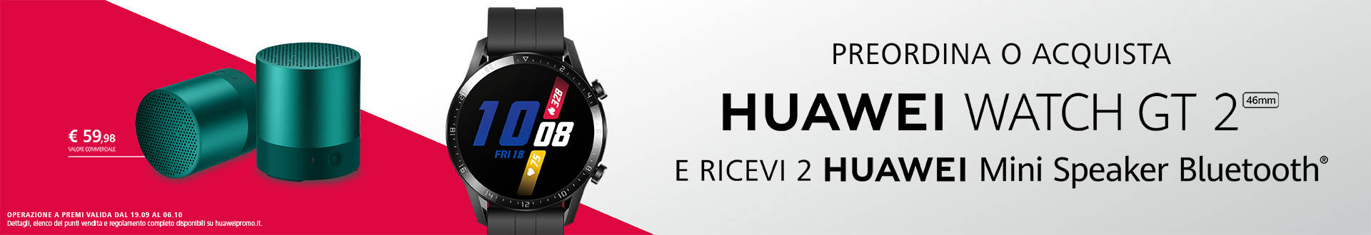 Promozione Huawei