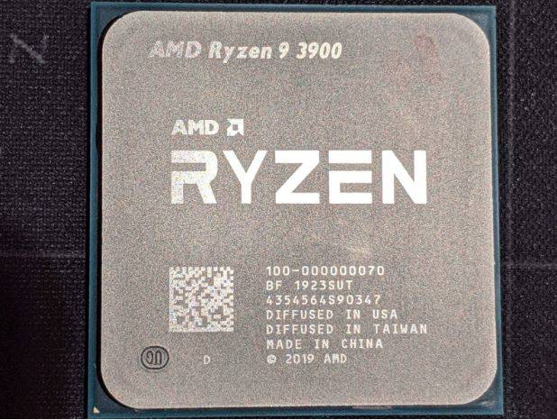 Ryzen 9 3900 test overclock