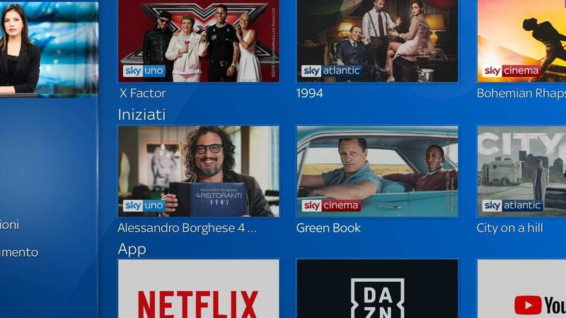 Netflix su Sky Q dal 9 ottobre: per i clienti Sky TV e Sky Famiglia costerà 9,99 euro in più al mese