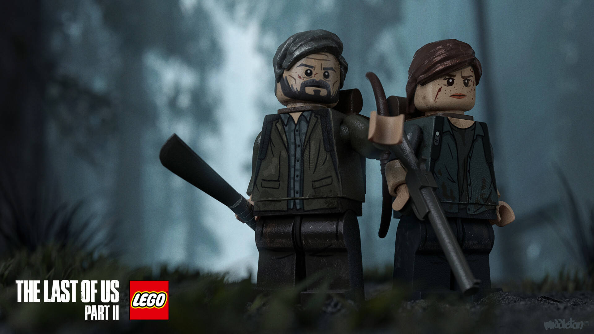 The last of us 2 lego