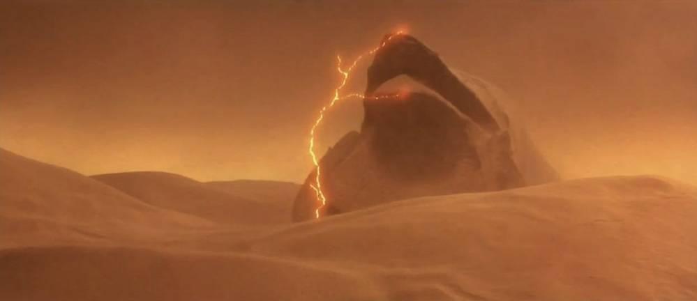 Un verme delle sabbie di Dune