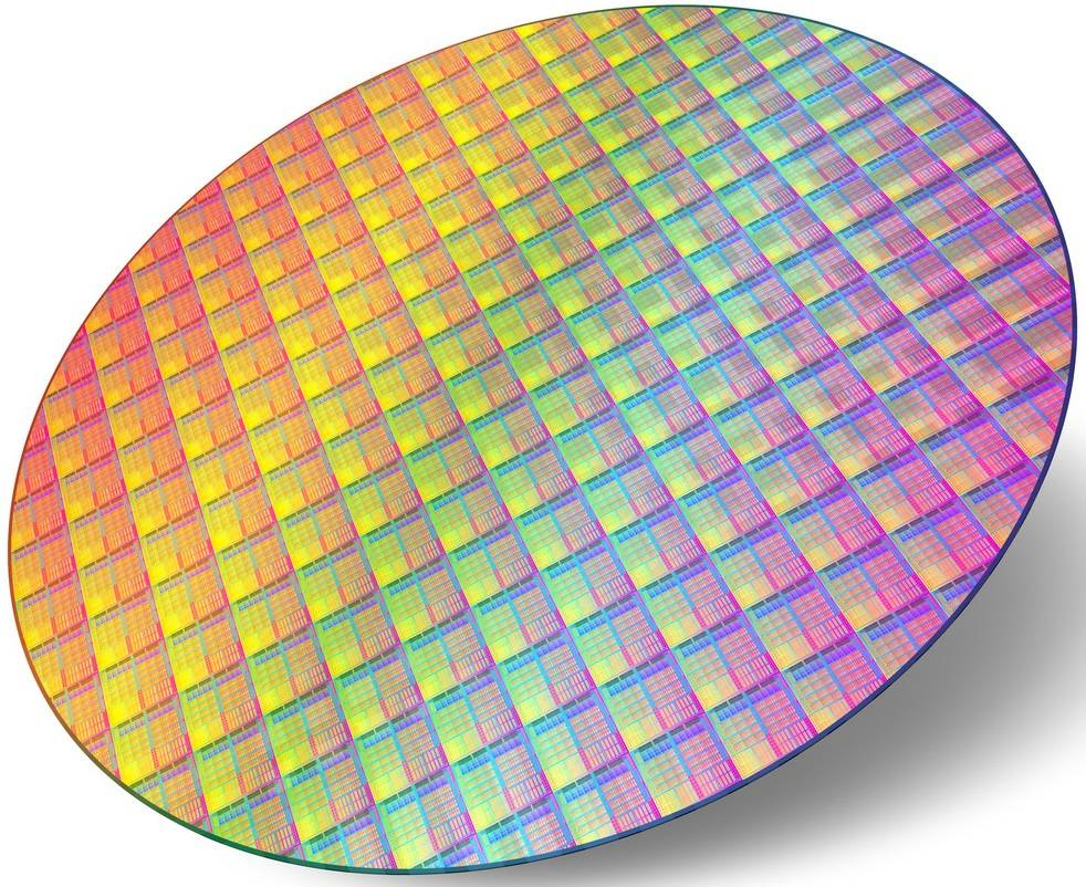 Wafer CPU