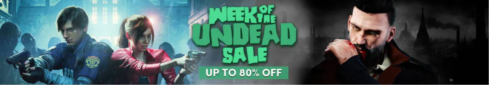 Week of the undead Humble Bundle