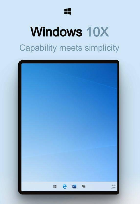 Windows 10X Leak rumor